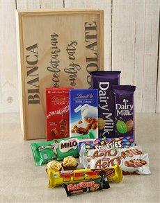 gifts: Personalised Chocolatarian Choc Crate!