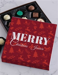 gifts: Personalised Merry Christmas Tray!