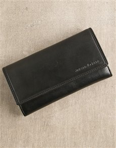 gifts: Jekyll & Hide Black Personalised Oxford Purse!