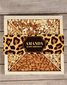 gifts: Personalised Leopard Nut Tray!
