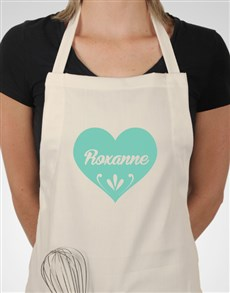 gifts: Personalised Heart Apron!