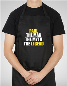 gifts: Personalised The Legend Apron!