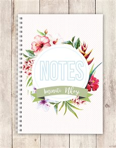 gifts: Personalised Island Style Notebook!