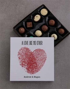 gifts: Personalised Love Like No Other Choc Tray!