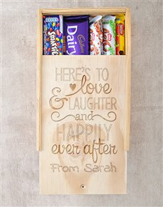 gifts: Personalised Happily Ever After Chocolate Box!