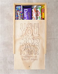 gifts: Personalised Love U All Year Chocolate Box!