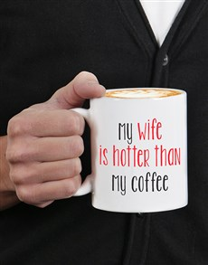 gifts: Personalised Hotter Than Mug!