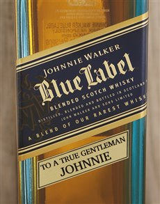 gifts: Personalised Johnnie Walker Blue!