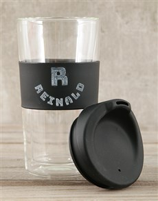 gifts: Personalised Letter Travel Mug!