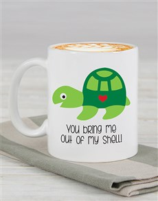 gifts: Personalised Out My Shell Mug!