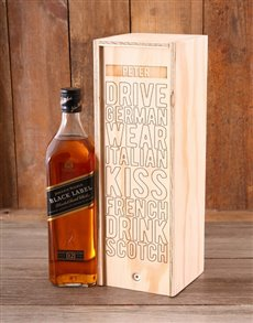 gifts: Personalised Kiss French JW Crate!