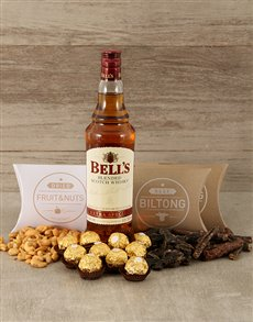 gifts: Bells and Snacks Hamper!
