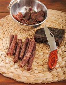gifts: Biltong and Utility Knife Gift Set!