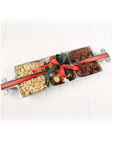 gifts: Rectangle Tray of Chocolate and Biltong!