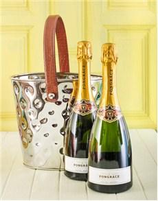 gifts: Ice Bucket of Pongracz Champagne!