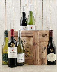 gifts: Crate of Six Assorted Wines!