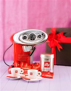 gifts: Classic Illy Coffee Machine Combo!