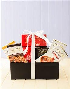 gifts: Lindt Chocolate Deluxe Hamper!