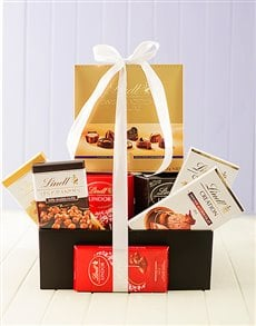 gifts: Lindt Chocolate Goodie Box!