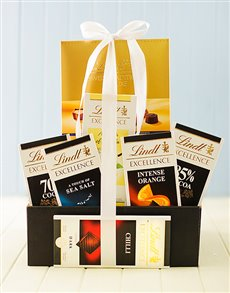 gifts: Lindt Chocolate Supreme Box!