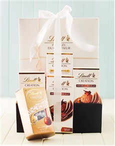 gifts: Lindt Chocolate Mousse Hamper!