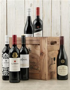 gifts: Crate of Six Red Wines!