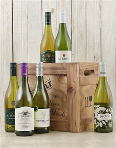 gifts: Crate of Six White Wines!