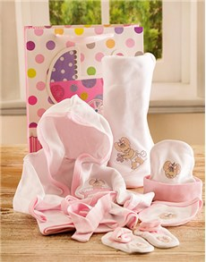 gifts: Pink Baby Set!