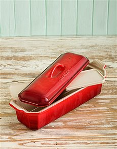 gifts: Le Creuset 32cm Terrine Dish with Press!