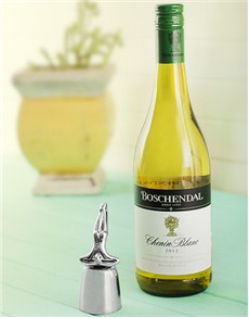 gifts: Carrol Boyes Bottle Stopper   At Rest & Boschendal!