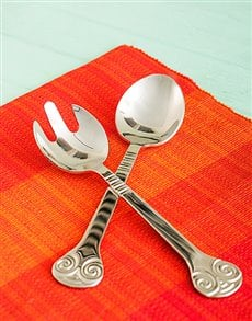 gifts: Carrol Boyes Salad Servers   Soleil!