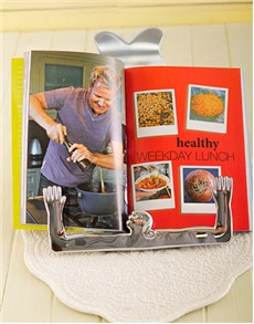gifts: Carrol Boyes Recipe Book Stand with Gordon Ramsay!