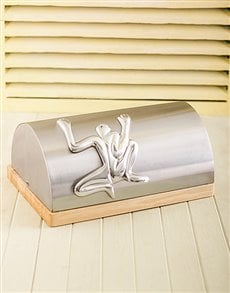 gifts: Carrol Boyes Bread Bin   Loafer!