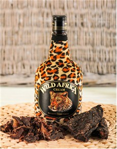 gifts: Wild Africa Liqueur with Biltong!