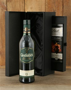 gifts: Glenfiddich 12 Year with Truffles!