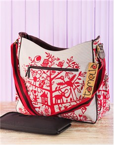 gifts: Red Tamelia Nappy Bag!
