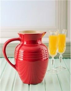 gifts: Red Le Creuset Jug!