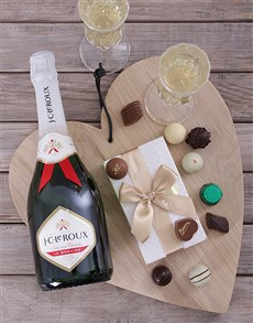 gifts: JC Le Roux & a Box of Chocolate Truffles!