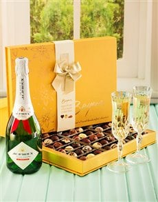 gifts: Chocolate Truffles & JC Le Roux!