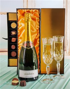 gifts: Luxurious Pongracz Champagne & Chocolate Gift box!