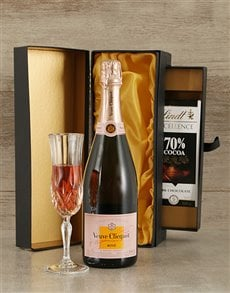 gifts: Luxury Veuve Clicquot  Champagne & Chocolate!