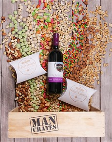 gifts: Van Loveren and Nuts in a Wooden Crate!