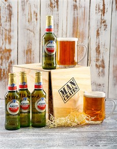 gifts: 4 Amstel of Beer with a Crate!