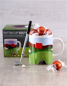 gifts: Hole in One Coffee & Chocolate Golf Gift Set!