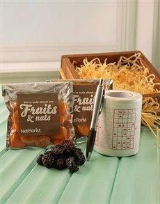 gifts: Sudoku Toilet Paper & Snacks!