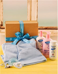 gifts: Baby Boy Toiletry and Babygrow Gift!
