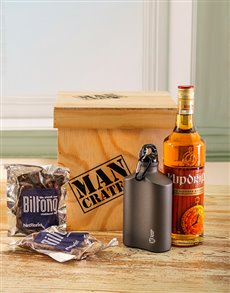 gifts: Klipdrift & Biltong Man Crate!