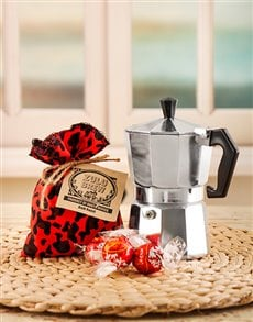 gifts: Zulu Brew Coffee and Lindt Gift!