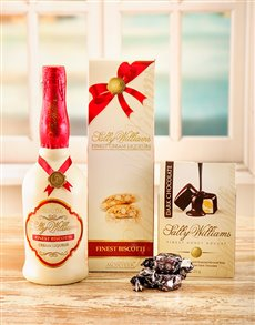 gifts: Sally Williams Liqueur & Nougat!