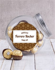gifts: Candy Jar of Ferrero Rocher Truffles!